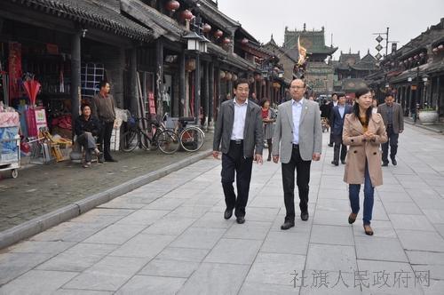 曹鹏程对社旗县文化旅游产业发展工作给予充分肯定,他指出,社旗历史